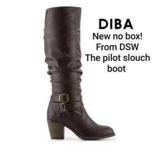 New! Diba DSW pilot slouch knee high boot 7